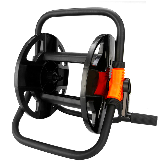 US $20 36 30% OFF|Portable Hoses Reel Holder Garden Wall Mount Cart Water  Pipe Storage Car Washer Pipe Exclude Winding Tool Rack Holder-in Garden