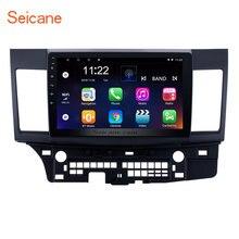Seicane Android 7,1/8,1 четырехъядерный автомобильный стерео gps навигационный радио плеер для 2008-2015 Mitsubishi Lancer-ex с FM 10,1″