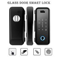 New Smart Door Lock Home Keyless Lock Fingerprint + Password Work Electronic Lock Wireless App Phone Bluetooth Control