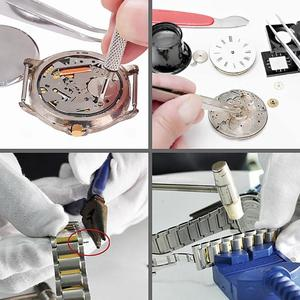 Image 5 - Removedor de abridor de relógio, barra de mola, reparo, chave de fenda alavanca, ferramenta de reparo de relógio, kit de ferramentas para relógios, peças