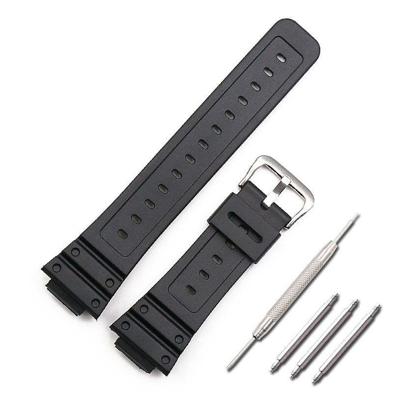 Resin strap men's sports waterproof pin buckle watch accessories for Casio G-SHOCK GW-5000 <font><b>DW</b></font>-<font><b>5600E</b></font> BBN M5610 female watch band image