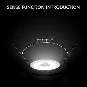 Image 5 - Coquimbo モーション活性化夜ライトバッテリ駆動のためのワードローブ階段 Pir モーションセンサー