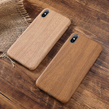 Delicate PU Case Cover For Iphone 6 6S 77plus 8 Plus Wood Grain Yellow Soft Phone Cases For Iphone XS Max XR X Luxury Back Cover все цены