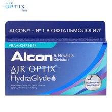Контактные линзы Air Optix plus HydraGlyde(6 шт) R: 8.6