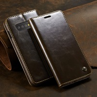 Магнитный чехол-бумажник для телефона с откидной кожаный чехол-книжка для Samsung Galaxy S8 S9 S10 Plus Note 9 8 S9Plus S8Plus Note8 Note9 S7 край Coque