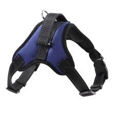 New Pets Dog Harness Vest Reflective Tape Breathable Mesh Pet Dogs Leash Accessories WXV Sale