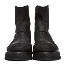 Модные ботинки визуально увеличивающие рост; Мужские плюшевые