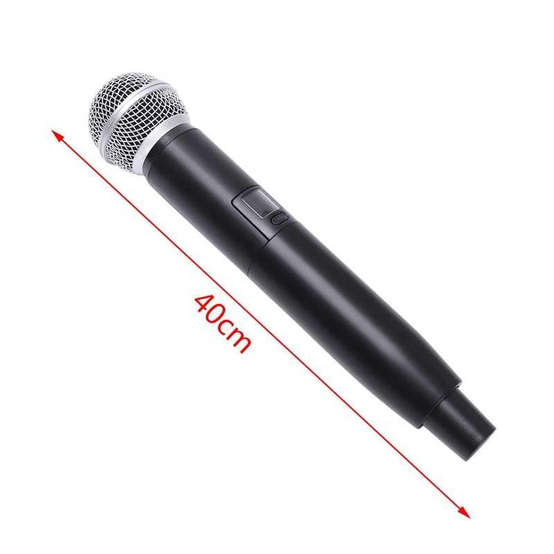 Smart Fm беспроводной VHF микрофон 2 беспроводные ручной микрофон Бесплатная частота для встречи ПК динамик усилители домашние