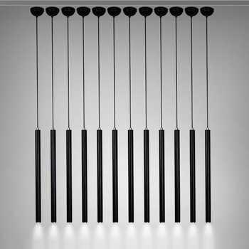 LukLoy Pendant Lights Modern Kitchen Lamp Dining Room Bar Counter Shop Pipe Pendant Down Lights Kitchen Spot Light Aluminum 3cm - DISCOUNT ITEM  18% OFF Lights & Lighting