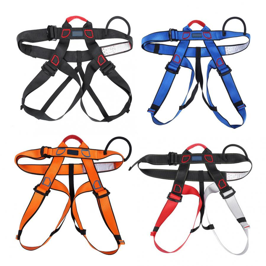 Survival-Equipment Safety-Belt-Rock Waist-Support Climbing-Harness Professional Outdoor title=