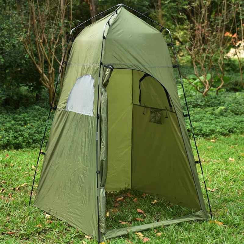 Кемпинг палатки водостойкие душ палатка пляж Рыбалка Открытый раздевалка сумка