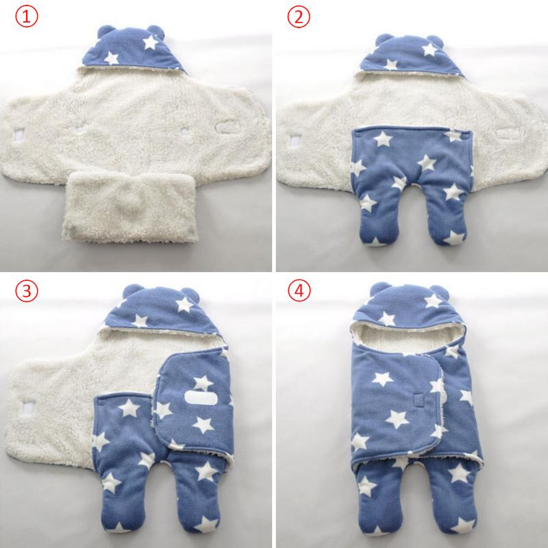 Sleepwear & Robes Baby Winter Infant Sleeping Bag Cotton Thick Newborn Saco De Dormir Saco Bebe For 0-1 Years Easy And Simple To Handle
