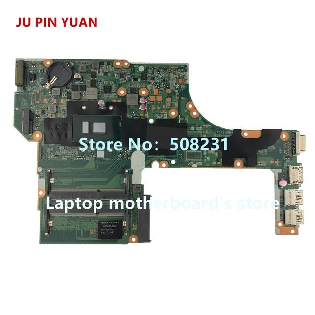 JU PIN YUAN 830931 601 830931 001 كمبيوتر محمول لوحة رئيسية لأجهزة HP ProBook 450 G3 دفتر اللوحة الرئيسية DA0X63MB6H1 i5 6200U اختبارها بالكامل