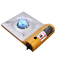 Brand New Ultra Thin Outdoor Camp Stove Portable Gas Stove Iron Compact Gas Stove Outdoor Cooking Picnic Supplies