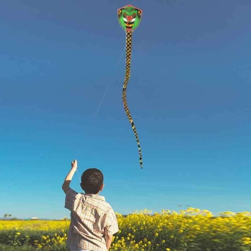 7 м форма змеи Kite открытый забавные летающие игрушки садовая скатерть детская игрушка летающие змеи спортивные игрушки для взрослых детей