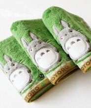 Baby Cotton Cartoon Totoro Face Towel Wash Cloth Handkerchiefs Infant Feeding Saliva