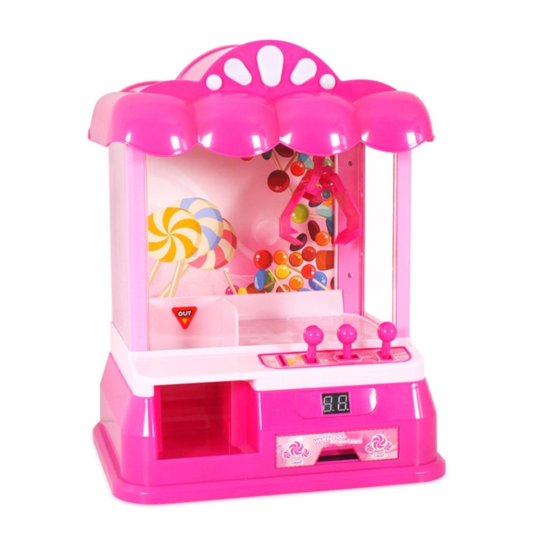 Enfants Mini bonbons Grabber bureau reharging jouet griffe Machine Arcade prix jeu amusant attraper Grabber nouveauté et Gag jouets - 3