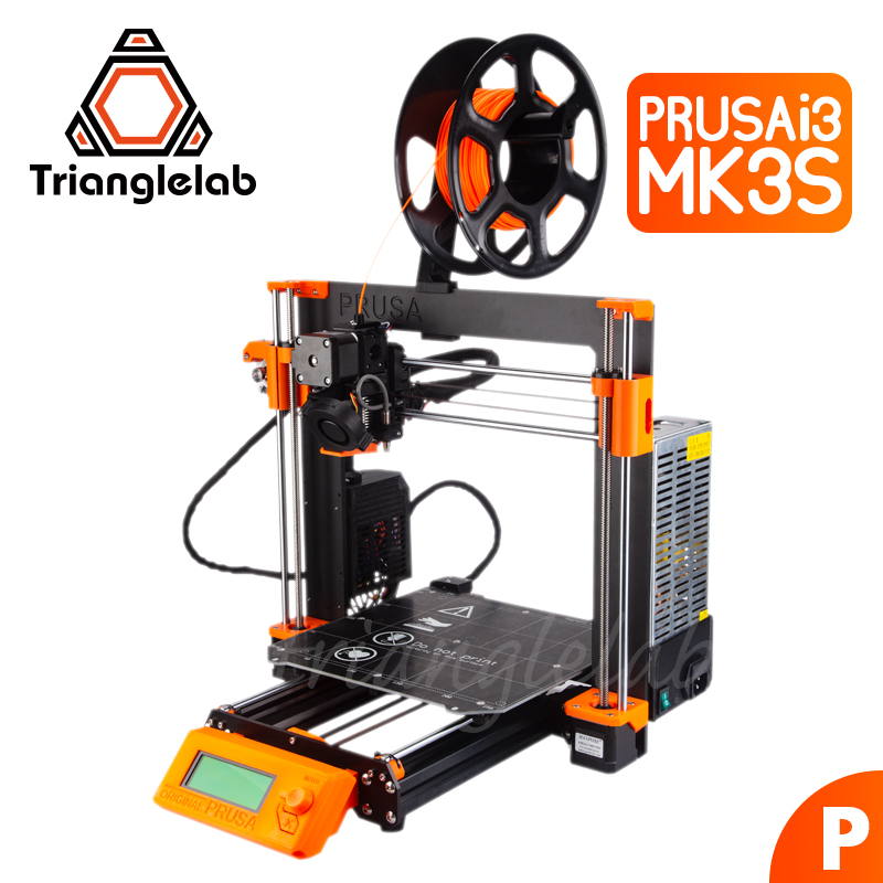 Trianglelab Cloned Prusa I3 MK3S Full Kit (exclude Einsy-Rambo Board) PETG Material 3D Printer DIY MK2.5/MK3/MK3S