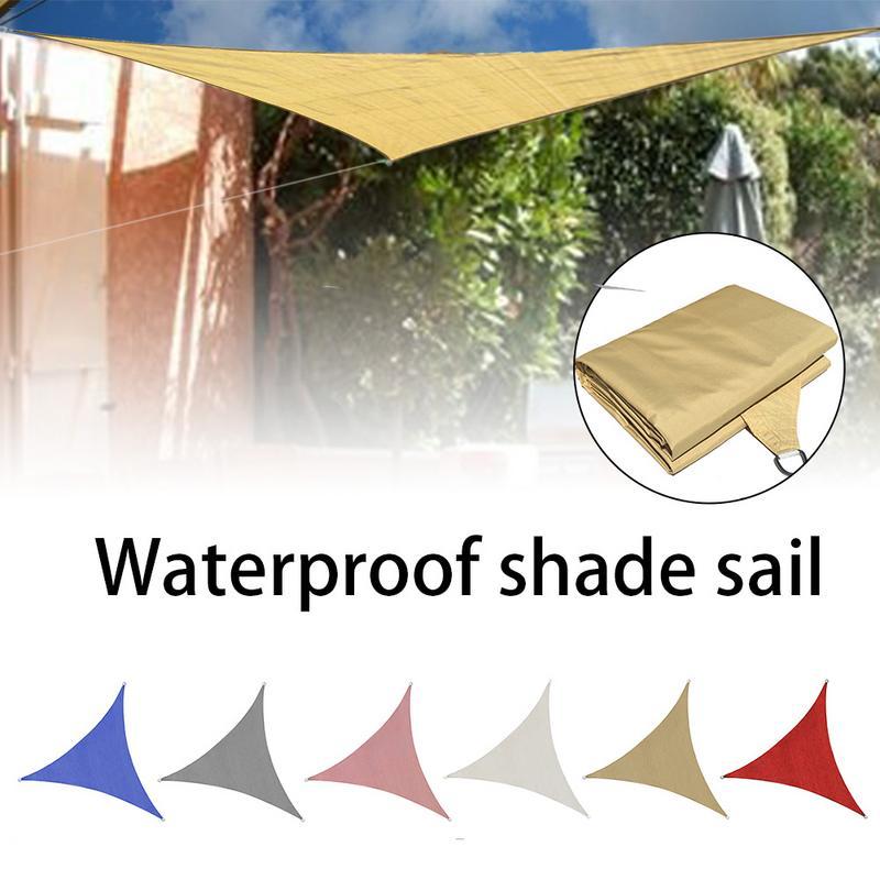 Pare-soleil 4*4*4 m carré cour partie Pe série extérieure voile d'ombrage Protection UV