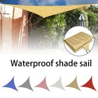 Sun Shade 4*4*4m Square Courtyard Party Pe Series Outdoor Shade Sail UV Protection