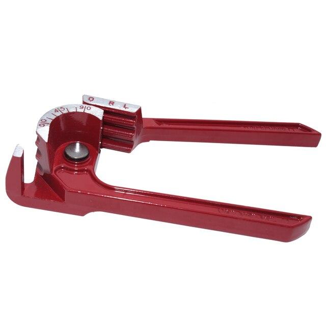 Herramienta para doblar tuberías de 90 grados doblador de tubos de alta resistencia doblador de línea de combustible de freno alicates curvos