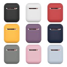 TPU Silicone Bluetooth Wireless Earphone Case For AirPods Protective Cover Skin Accessory for Apple Airpods Charging Box Light