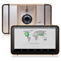 Android 4.4 7 Inch Car Dvr Camera Capacitive Screen Hd 1080P Bluetooth Wifi Mp4 Multimedia Player Gps Navigator