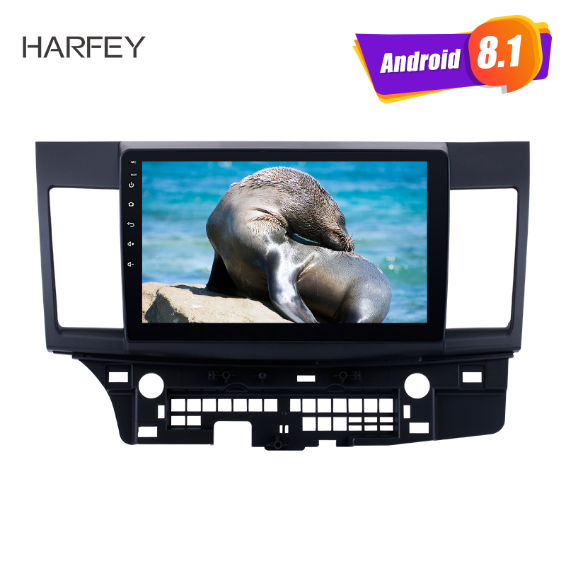 Harfey 10 1 Android 8 1 for 2008 2015 Mitsubishi Lancer ex car multimedia player HD