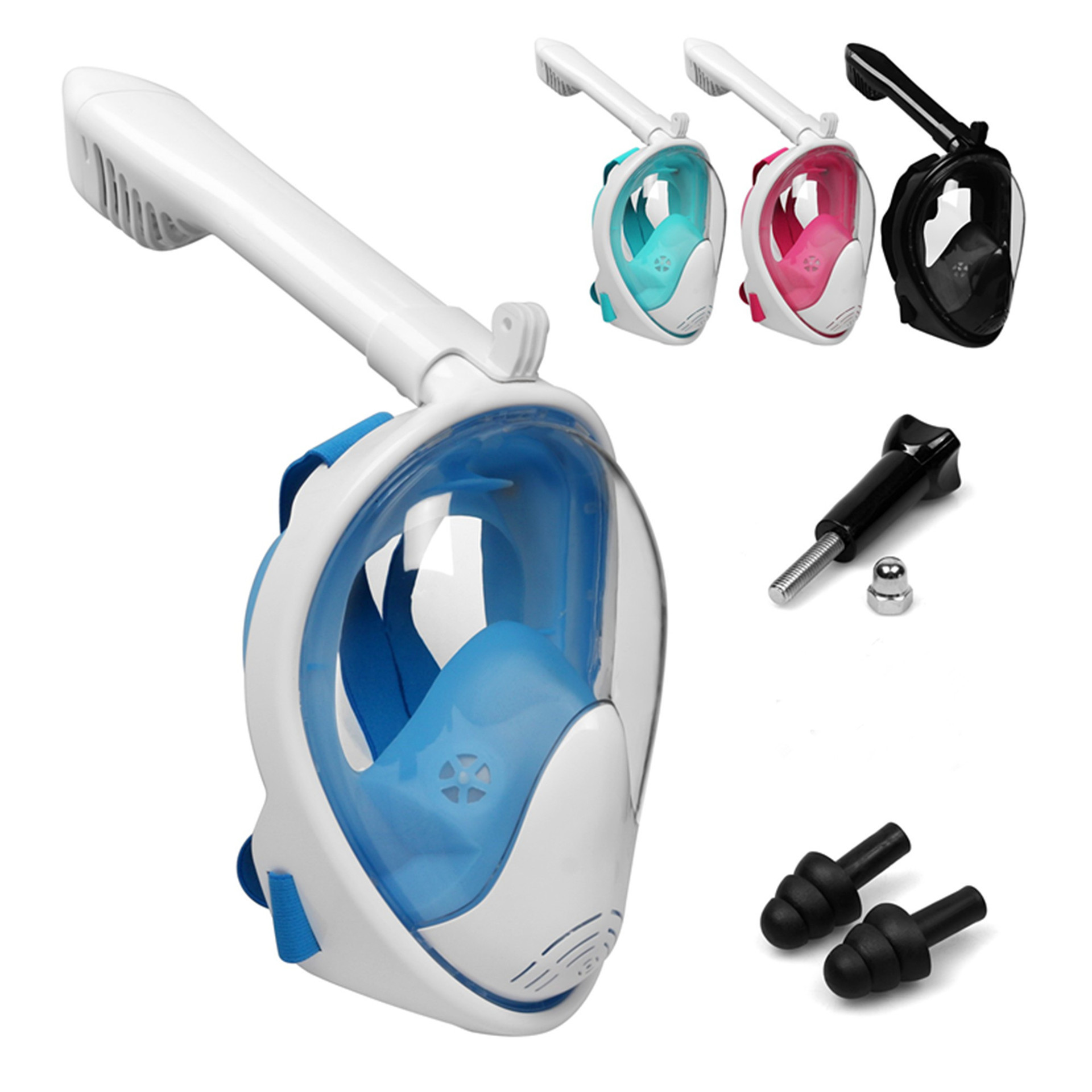 Scuba Full Face Snorkel Mask Diving Mask Underwater Anti Fog Snorkeling Diving Mask For Swimming Spearfishing