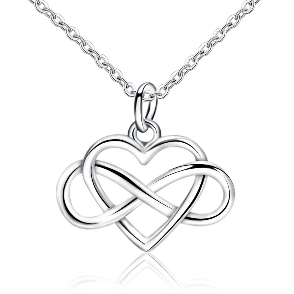 MMC Infinity Dancing Silver Pendants Necklaces