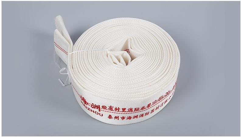 25mm Diameter High Pressure Water Hose Garden Irrigation Watering Hose Antifreeze Canvas Fire-Protection Hose 20m/roll