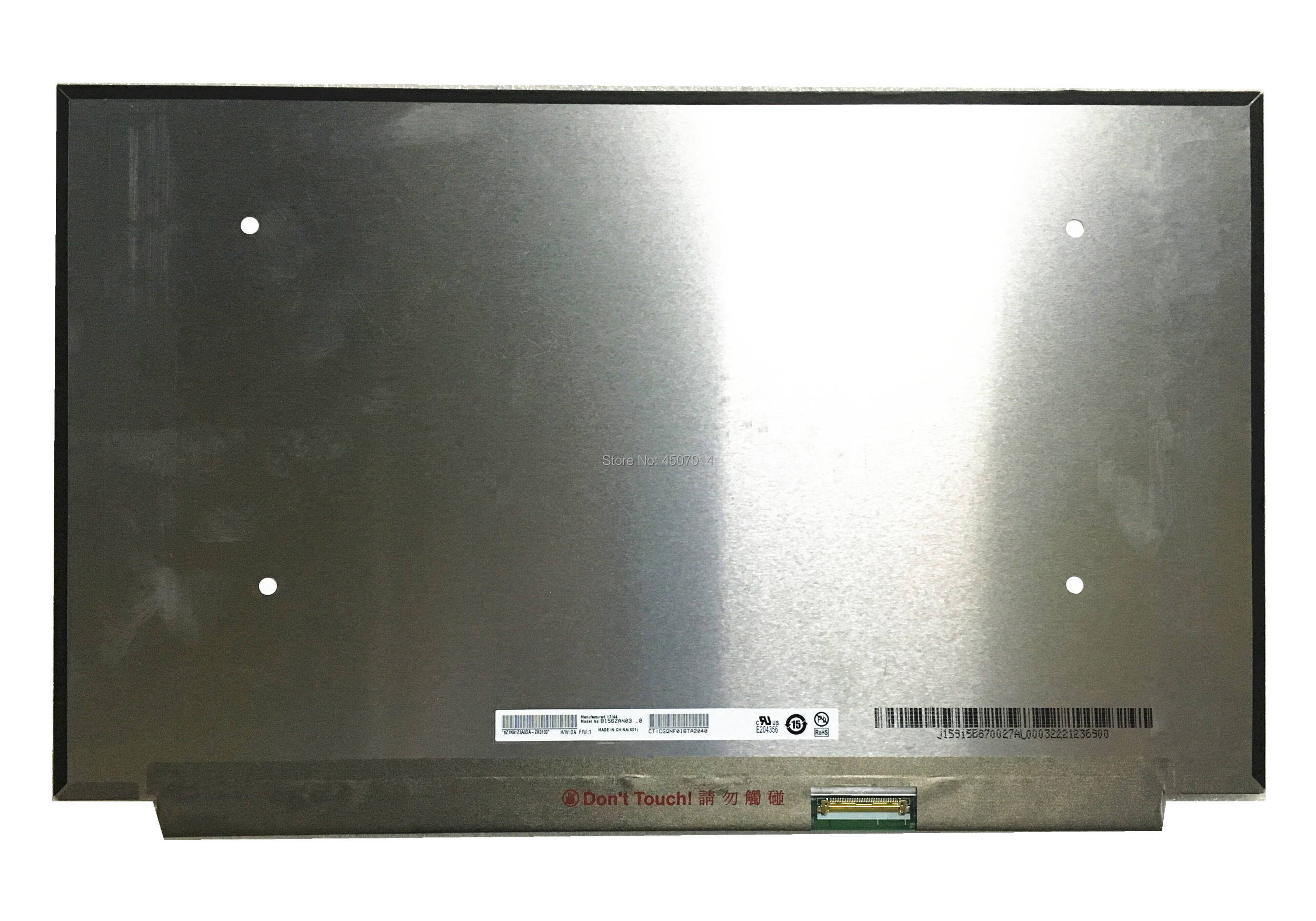 Free Shipping B156ZAN03 0 B156ZAN03 3 15 6 inch 4k Laptop Lcd Screen 3840 2160 EDP