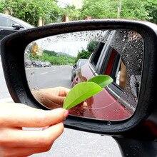 10PC Car Rearview Mirror Protective Film Anti Fog Window Clear Rainproof Rear View Soft Auto Foils