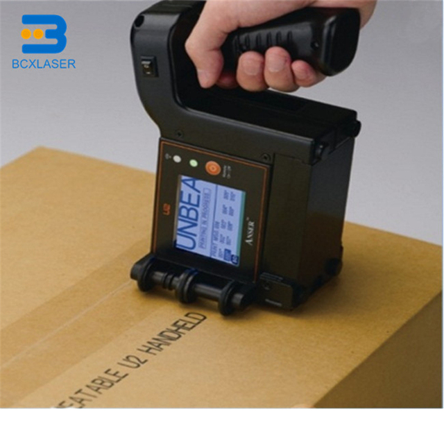 Cầm tay máy in cho hàng loạt thanh qr mã ngày cầm tay in ấn machineBCX máy in phun