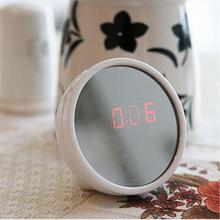 Многофункциональная будильники стол прозрачные часы с Динамик светодиодный Дисплей