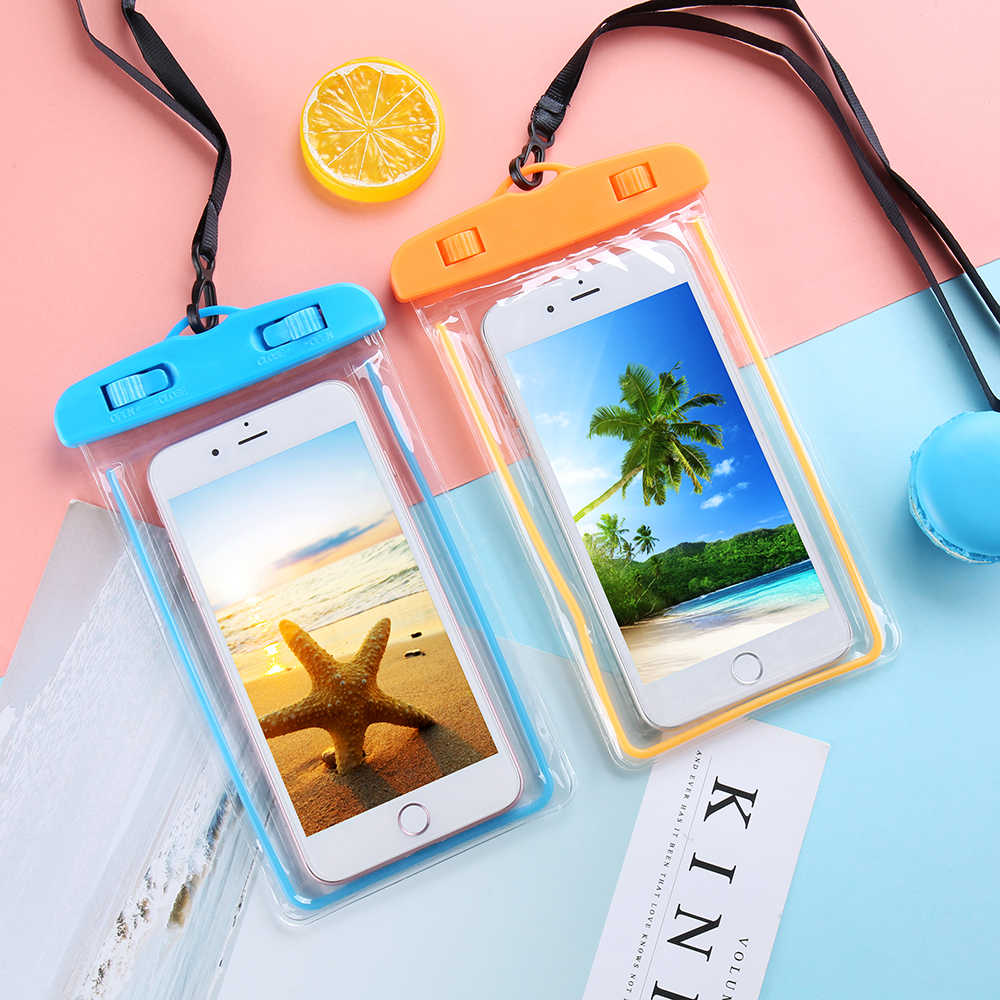 CASEIER Waterproof Phone Case Universal Waterproof Bag Cases For Swimming Water Protective Underwater Photography Covers Fundas