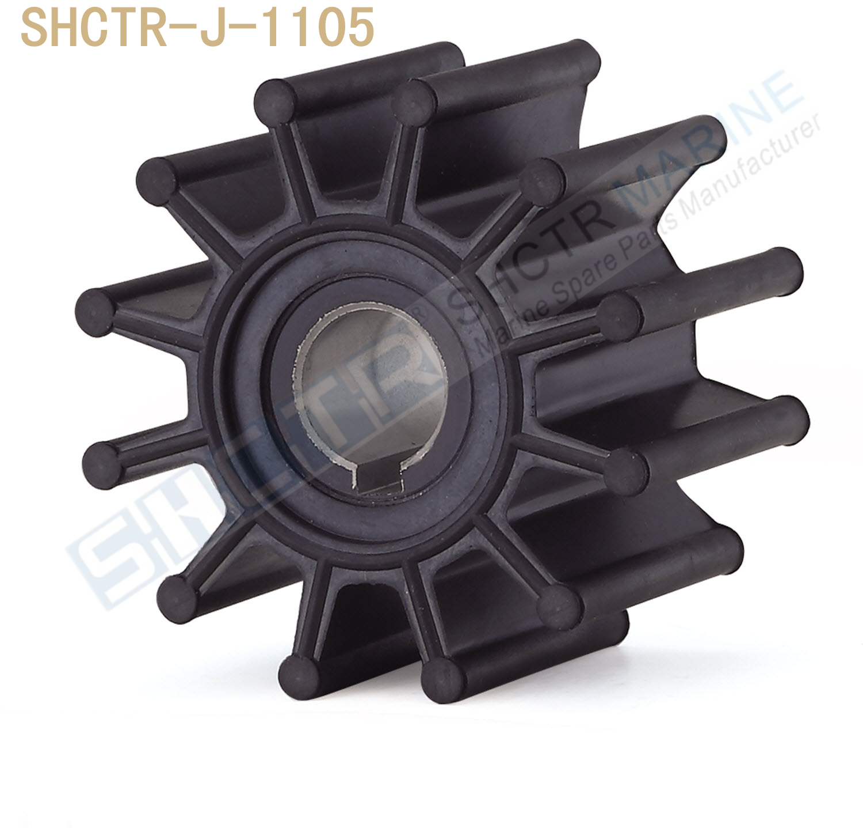 impulsor flexivel de shctr para jabsco 18948 0001 sherwood 10615 k cef 500120 835874