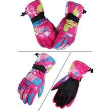 1 Pair Men Women Boy Girl Chidren Kids Ski Gloves Snowboard Motorcycle Winter Skiing Climbing Waterproof Snow