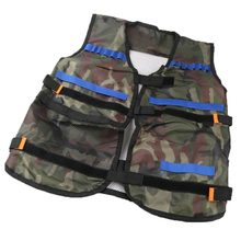 New Outdoor Adjustable Vest Kit For Nerf N-strike Camouflage vest