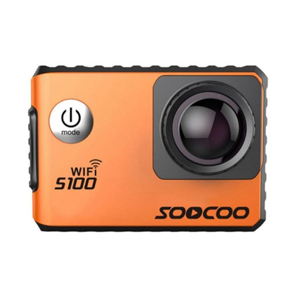 SOOCOO S100 Ir Pro 4K Action Camera 2.0 Tela Sensível Ao Toque de Controle de Voz Wi fi Cam Esportes Gyro Remoto 20MP pro ao ar livre Mini DV Esportes