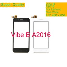 10Pcs/lot For Lenovo Vibe B A2016a40 A2016 Touch Screen Digitizer Touch Panel Sensor Front Outer Glass Lens VIBE B Touchscreen toy math board games for adults russian learning resources homeschool kids tiny toys educational penguin