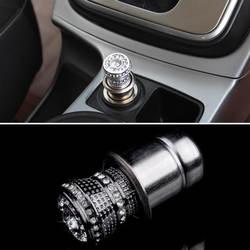 Новые 12 В Роскошные Bling горный хрусталь Авто Утюг сигареты Зажигалка на электропитании серебро