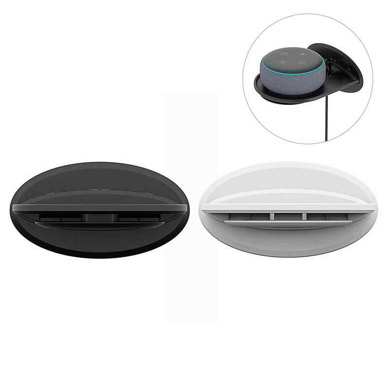 Новые настенные настенный держатель для туалетнных принадлежностей для Amazon Echo Dot 3 2 динамик Google дома мини Google Wi Fi смартфонов Детская безопасность Камера Портативный стенд