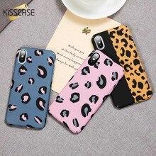 KISSCASE Leopard Luminous Phone Case For Xiaomi Redmi Note 7