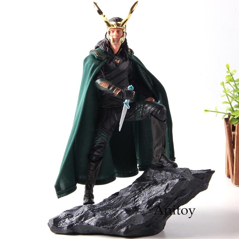Iron Studios Thor Ragnarok Loki Action Figures 1/6th Scale PVC Collection Model Toys for Boys Gift gown