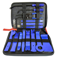 19pcs Car Door Panel Trim Removal Tool Audio Radio For Installation And Remover Strong Nylon Pry Tool Kit 2 Colors