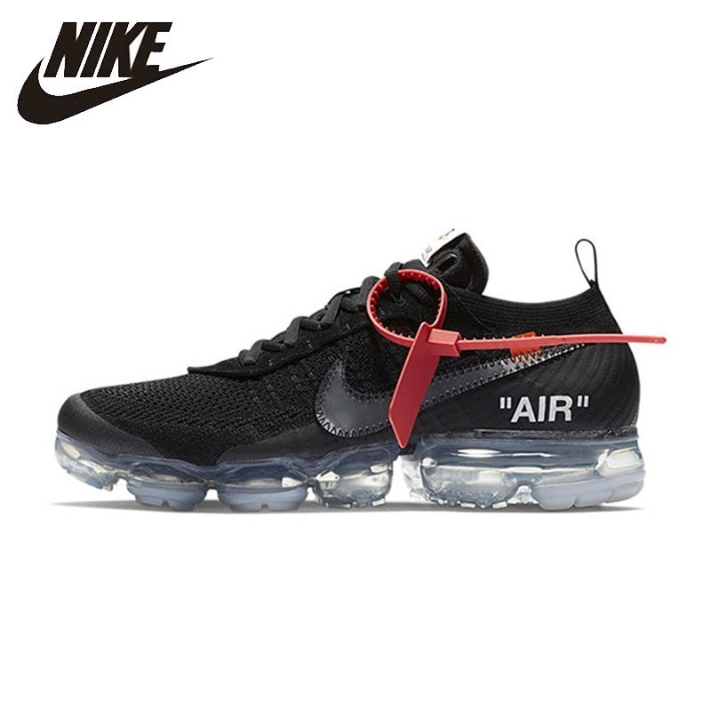 the latest b065b 66697 Nike Original X Off White Vapormax 2.0 Man Running Shoes Air Cushion  Breathable Sport Outdoor Sneakers AA3831