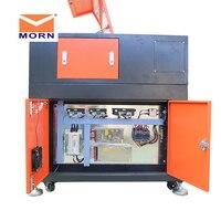CNC CO2 laser engraving cutting machine 6090 wooden laser engraver cutter machine with ruida control system