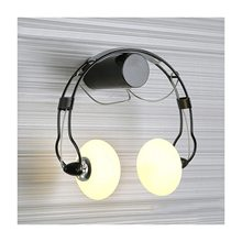 American Country Creative Iron Led Wall Lamp,Retro Bedroom Bedside Aisle Cartoon Headset Wall Light For Children Room Lum цена 2017