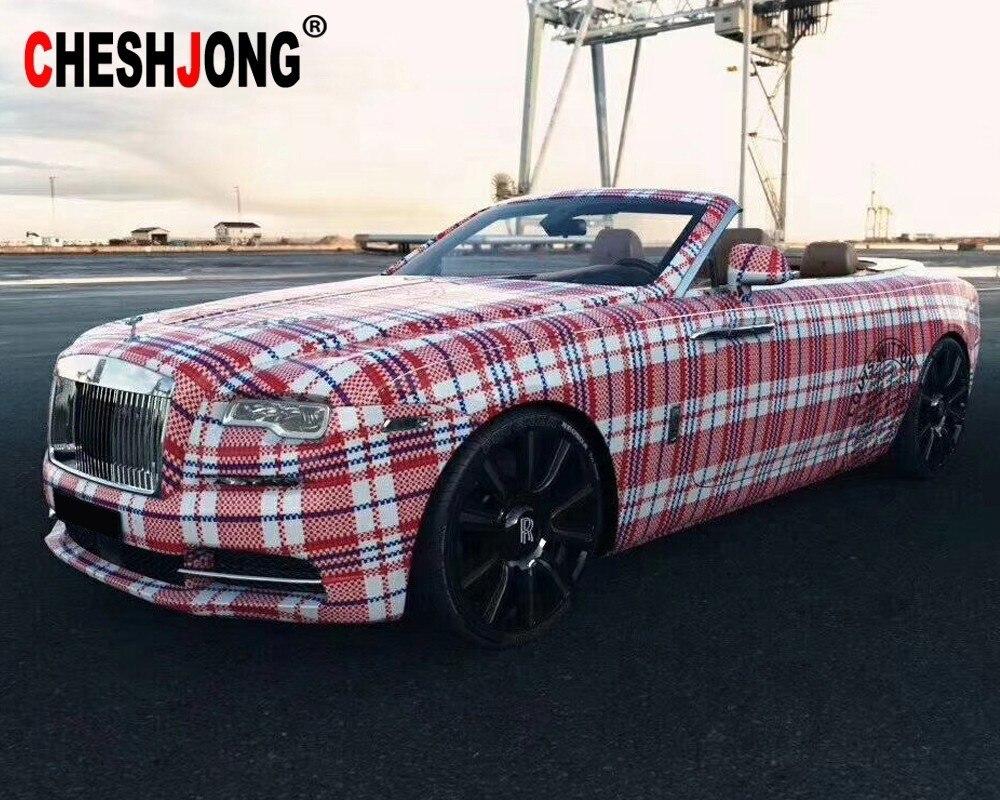 Plaid sac mat housse de voiture en vinyle Film feuille rouleau holographique adhésif autocollant pour voiture décoration décalque voiture style accessoires